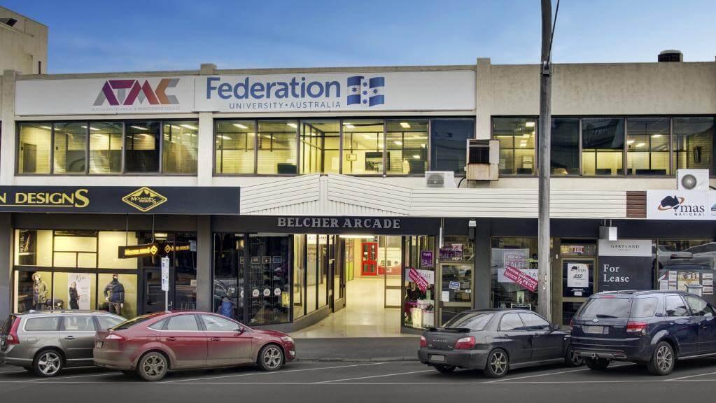 Belcher Arcade in Geelong CBD, now home to local creatives